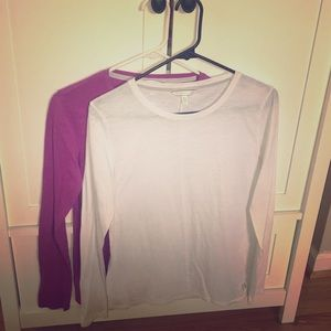 VS long sleeved shirts. Set of two. Both sz S